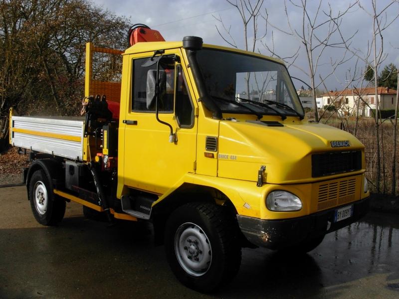 Bremach tgr 50 ribaltabile con gru autocarri usato for Bremach 4x4 usato